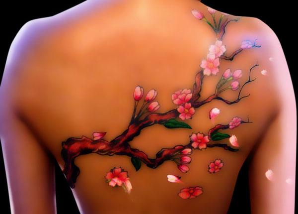 a Cherry Blossom Tattoo For a