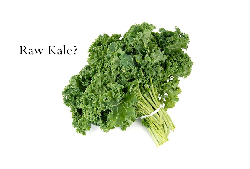 What Should Be Noted When Eating Kale?