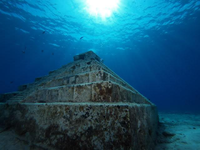Photos of The Mysterious Underwater Cities in History Daily ...