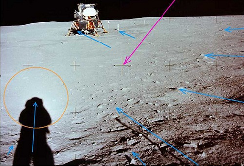 moon landing conspiracy shadows - photo #23