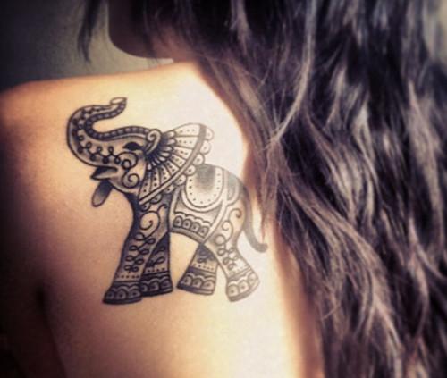 Elephant tattoo meaning - photo#10