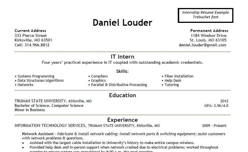 Perfect Fieldstation.co Inside Qualities To Put On Resume